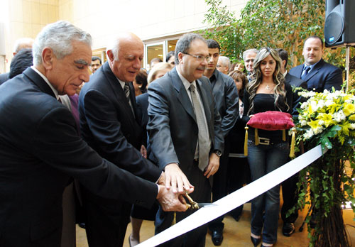Official dedication of the Riyad Nassar Library in 2006